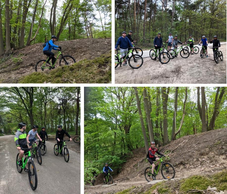 Mountainbike tocht 20 mei 2021